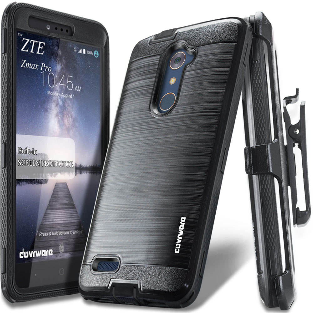 zte zmax pro case with built in screen protector moderator Corbu: