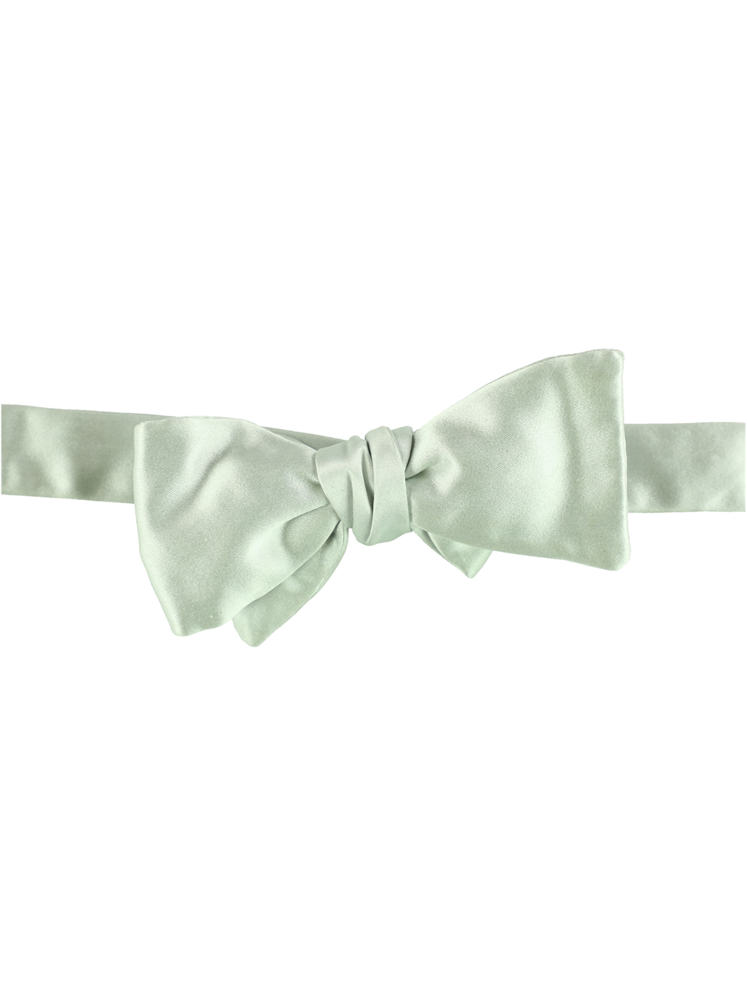 9637e10d388 Bloomingdale's Mens Hand Self-tied Bow Tie silver One Size | Walmart ...