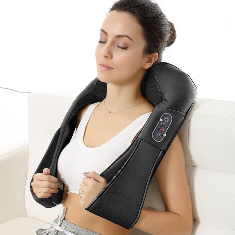 Shiatsu Kneading Neck Back Shoulder Massager Waist Neck Relax Relief Device