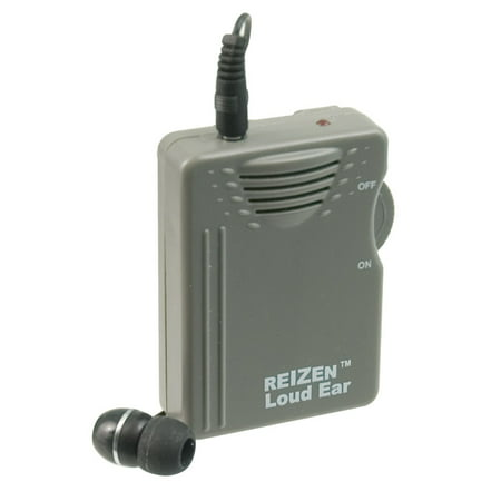 Reizen Loud Ear 110dB Gain Personal Amplifier