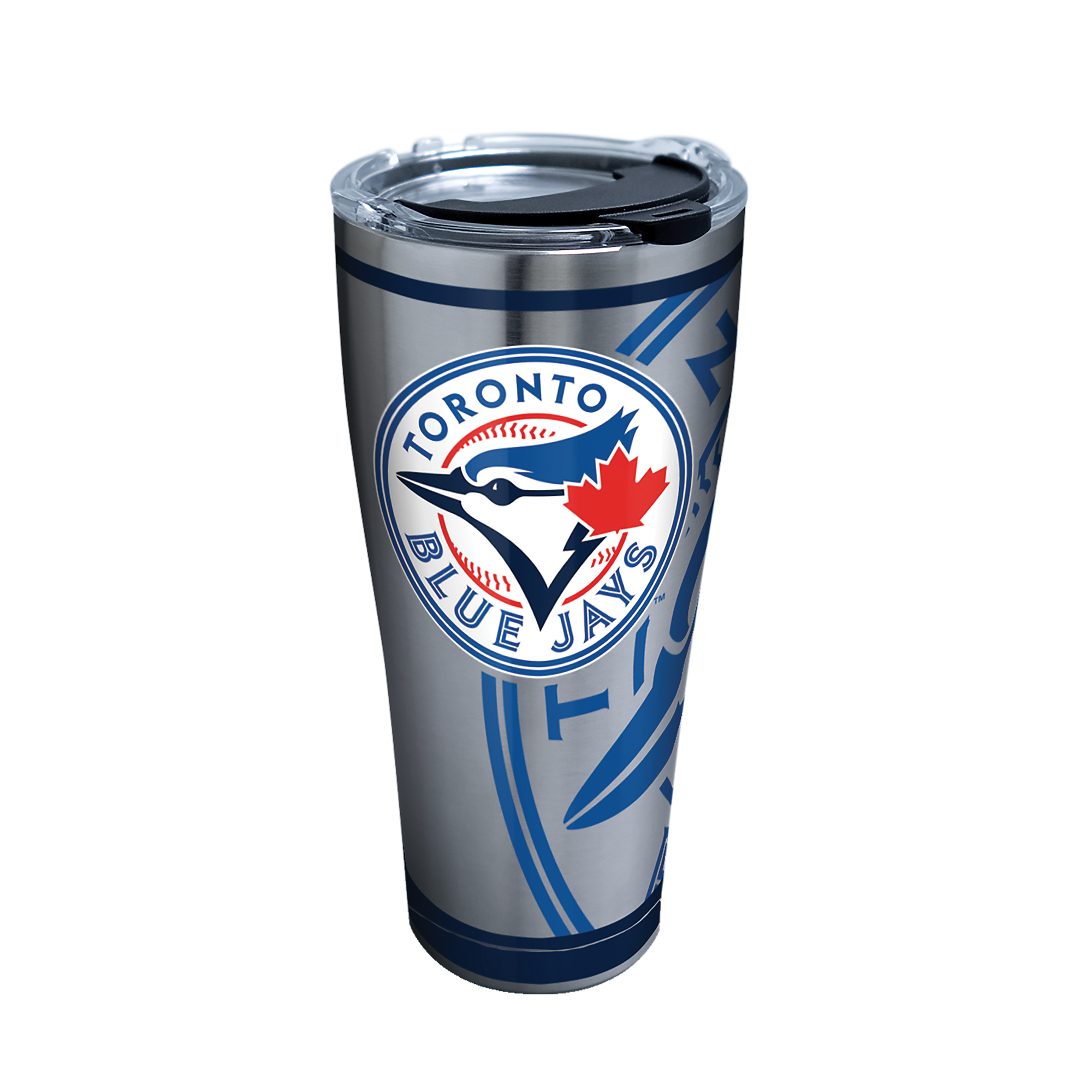 MLB Toronto Blue Jays Genuine 30 oz Stainless Steel Tumbler with lid