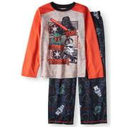 Boys Lego Star Wars 2 Piece Pajama Sleep Set Here Comes Trouble (xs)