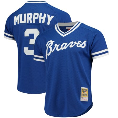 Dale Murphy Atlanta Braves Mitchell & Ness Cooperstown Mesh Batting Practice Jersey - - Womens Batting Practice Jersey
