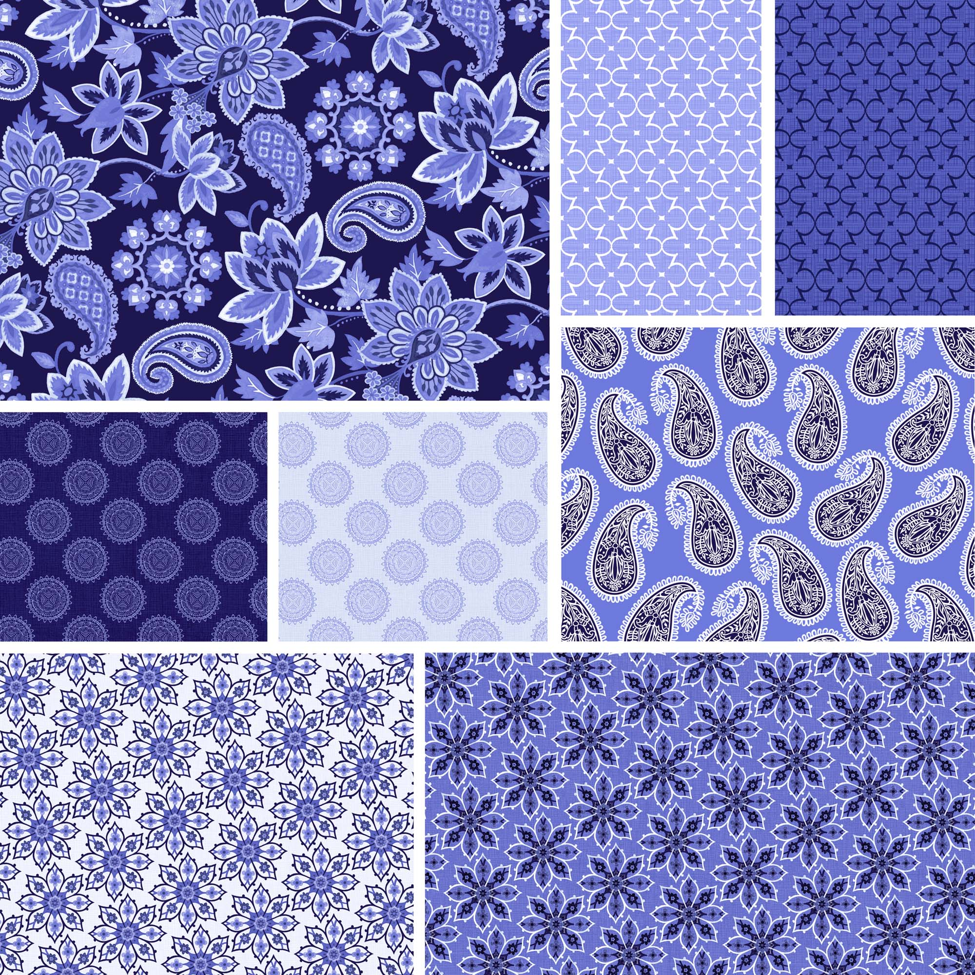"""David Textiles Deco Nature Collection 44"""" Quilting Cotton Fabric By The Yard"""