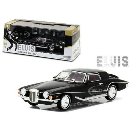 1971 Jeep - 1971 Stutz Blackhawk Elvis Presley (1935-1977) 1/43 Diecast Model Car by Greenlight