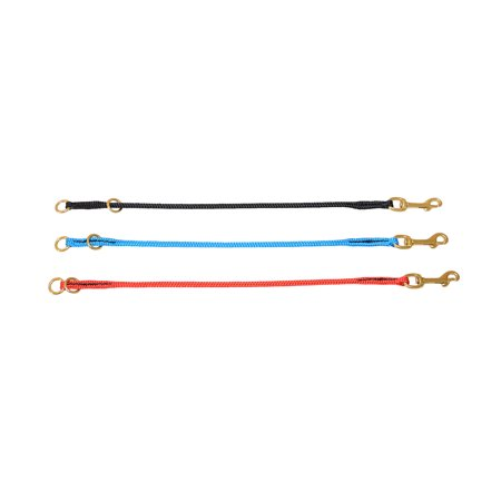 Nylon Combo Choke Collar (Nylon Dominant Dog Choke Collar in Black, Red and Light Blue - RedLine K9)