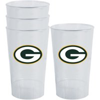 Green Bay Packers 16oz. Acrylic Tumblers 4-Pack Set - No Size