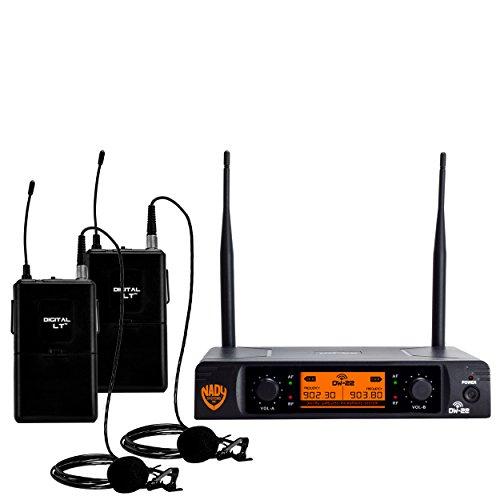Nady[r] Dw-22-lt-any Dual-transmitter Digital Wireless Microphone System [2 Digital Lt[tm]... by Nady