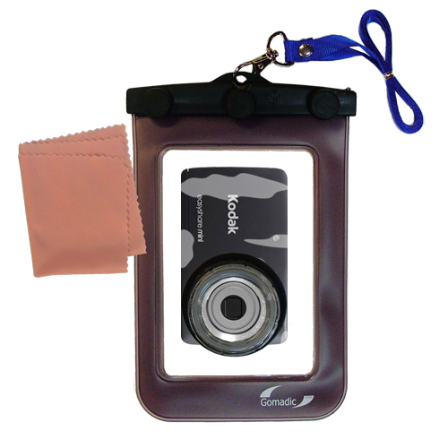 Gomadic Waterproof Camera Protective Bag Suitable For The Kodak Easy Share Mini  -  Unique Floating Design Keeps Camera Clean And Dry