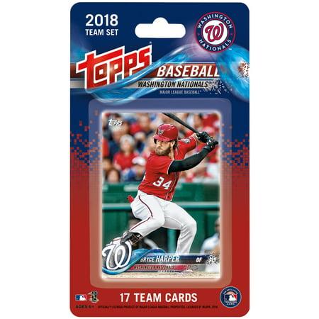 Washington Nationals 2018 Team Set Trading Cards - No Size ()