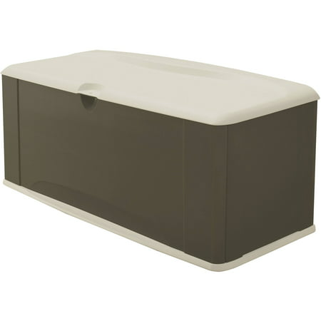 Rubbermaid 121 Gallon Deck Box with Seat ()