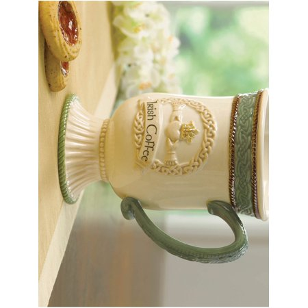 Ceramic Dishwasher and Microwave Safe Irish Coffee Mug