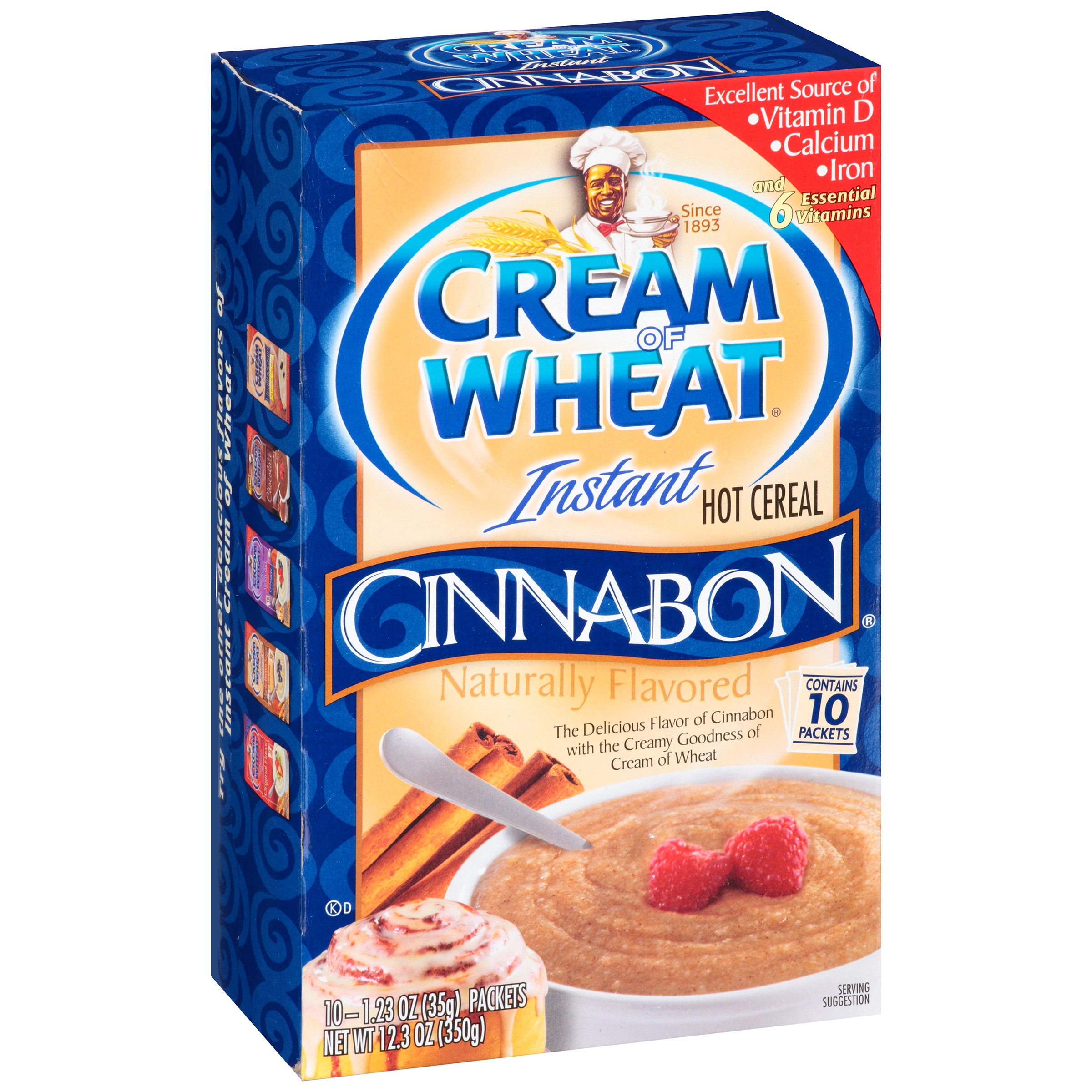 Cream of Wheat® Instant Hot Cereal Cinnabon® 10-1.23 oz. Packets