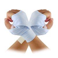 """Unique Bargains Light Blue 1.5"""" Width Boxing Bandage Hand Wrap Support"""