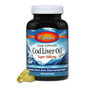 Best Cod Liver Oils - Carlson Cod Liver Oil Gems, 100ct Review