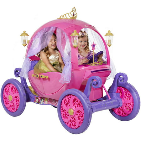 24V Disney Princess Carriage Ride On
