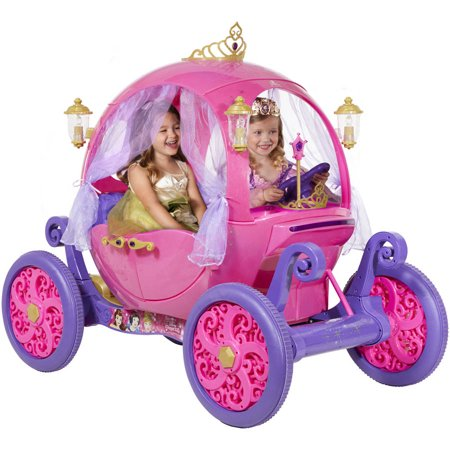 24 Volt Disney Princess Carriage Ride-On for Girls by Dynacraft