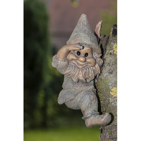 Framed Art for Your Wall Gnome Fig F÷hlich Garden Gnome Dwarf 10x13 Frame - Scary Gnomes For Sale