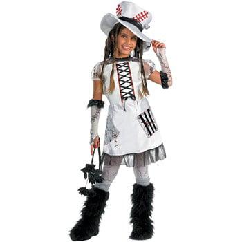 Chucky's Bride Halloween Makeup (Monster Bride White Teen Halloween)
