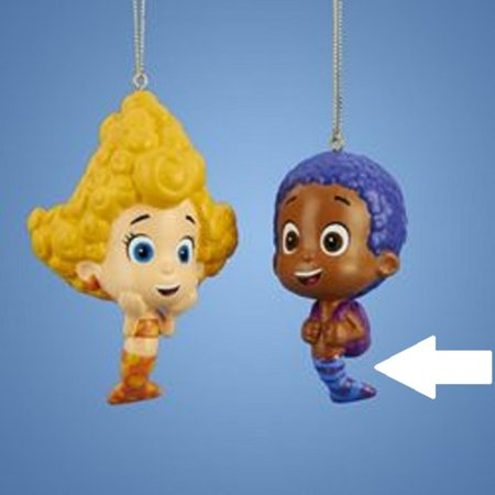 "3.5"" ""Goby"" Nickelodeon Bubble Guppies Character Christmas ..."