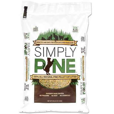 Simply Pine Natural Cat Litter, 40 Lbs