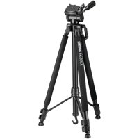 "Sunpak 620-663LX 6630LX 66"" Photo/Video Tripod with Adapters"