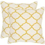 Safavieh Rhea Geometric Pillow, Set of 2