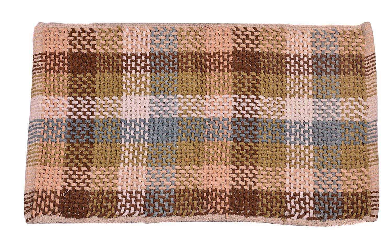 Bath Rug 2x3 ft Area Rug Brown Bath Rug Doormat Living Room Bedroom Entry Way Floor Mat... by Doormats
