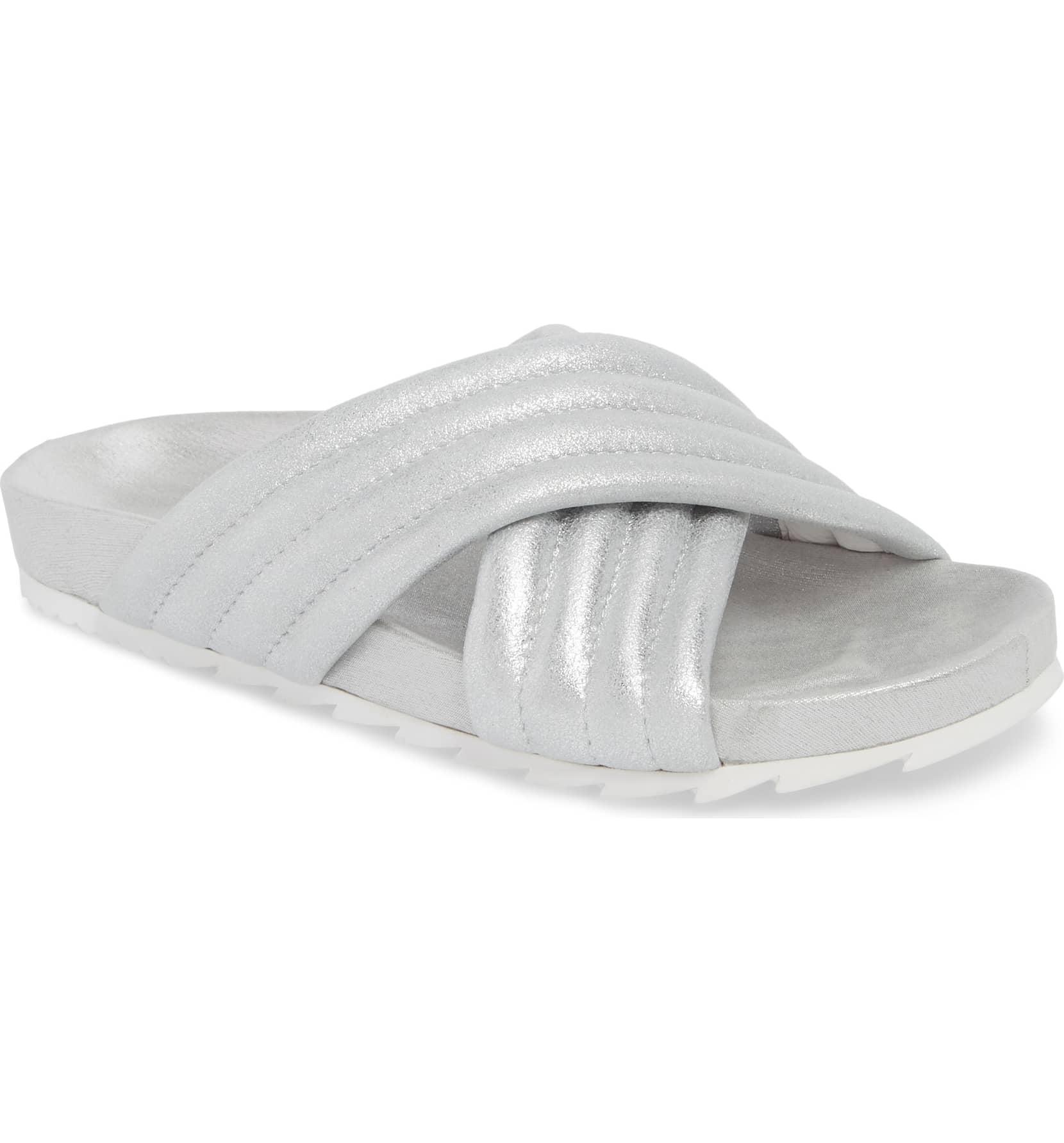 flat mule slides open toe