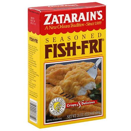 Zatarain 39 s seasoned fish fri new orleans style seafood for Zatarain s fish fri