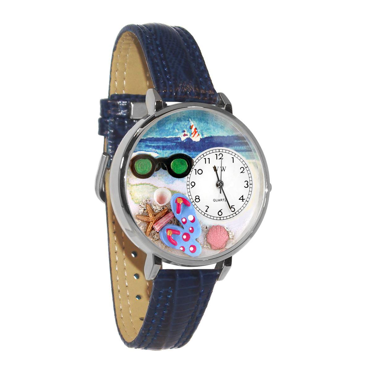 Flip-flops Watch in Silver (Large)