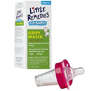 Little Remedies Tummys Gripe Water with Pacifier Medicine Dispenser
