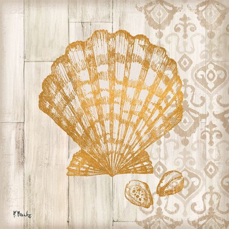 Saint Tropez Shells IV Poster Print by Paul Brent - Saint Paul College Card
