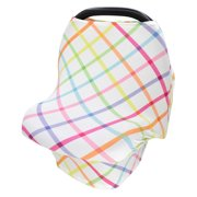 Bescita Baby Stretchy Privacy Nursing Breastfeeding Cover Multi Use Carseat Canopy