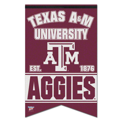 NCAA - Texas A&M Aggies Premium 17x26 Banner