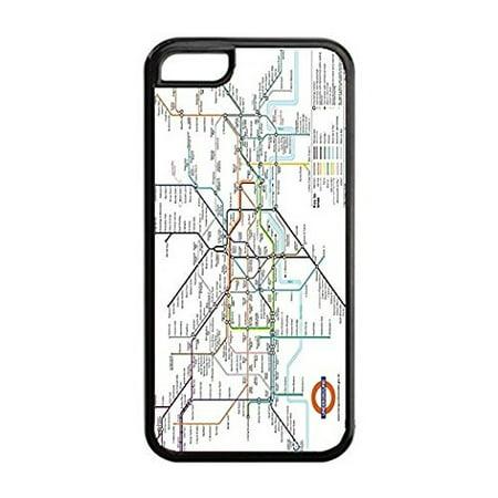 Subway Map Phone.Ganma London Underground Tube Subway Map Case For Iphone 7 4 7 Inch Silicone Tpu Cover