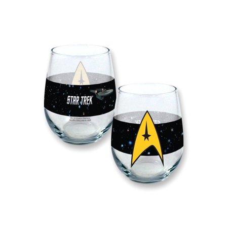 Star Trek Oval 21oz Glass