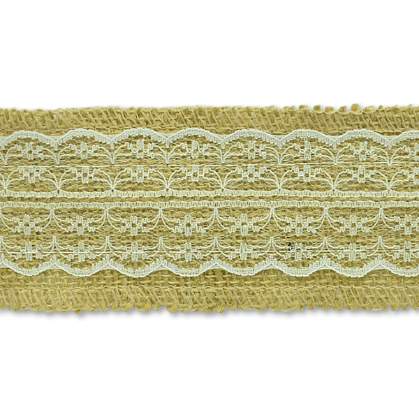 Expo Int'l 5 Yards of Brylee Jute Lace Trim