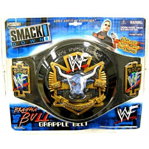 WWE Wrestling The Rock Brahma Bull Belt [Youth]