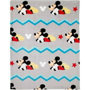 Disney Mickey Mouse Plush Printed Blanket