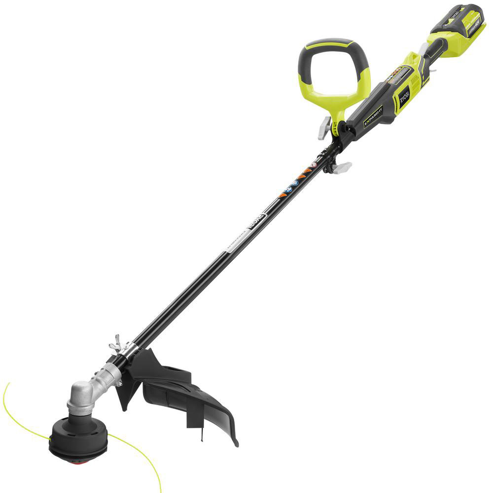 Ryobi Expand-it String Trimmer Edger Weed Eater 40 Volt L...