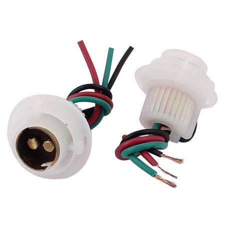 Car Turn Signal Light Lamp 1157 Socket Wiring Wire Harness Connector 2Pcs