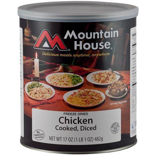 Mountain House Diced Chicken Can