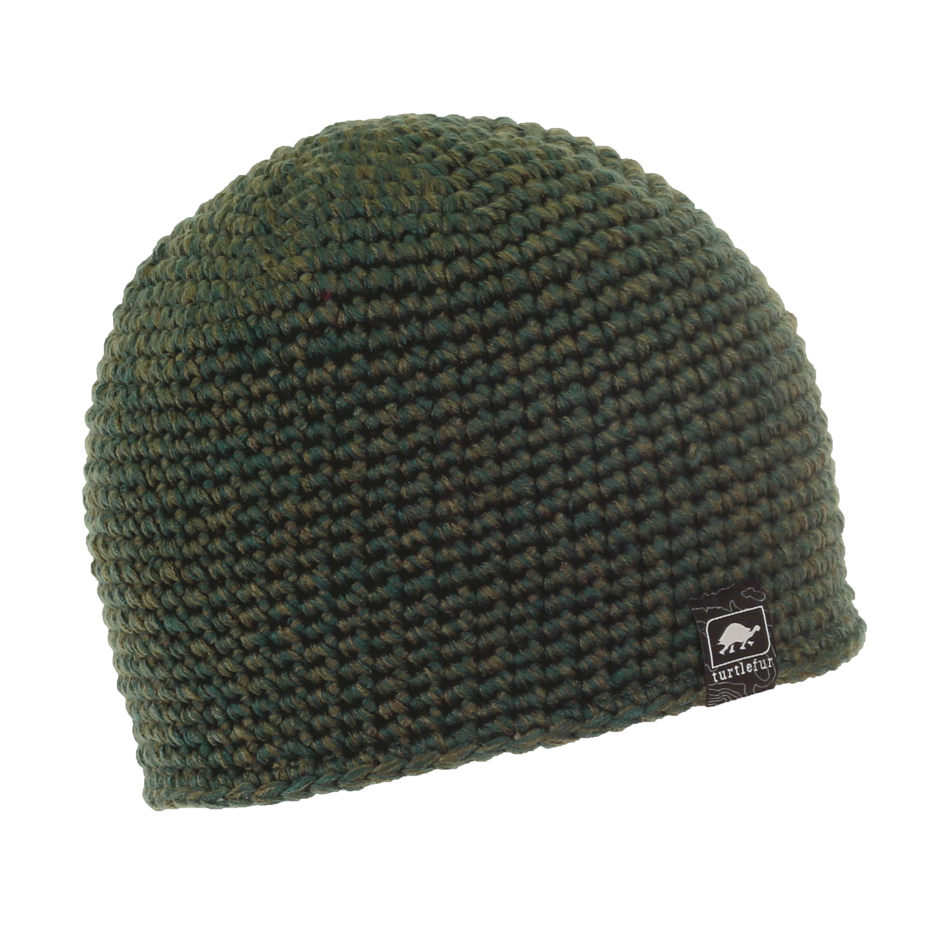 Turtle Fur Collins Mens Fleece Lined Classic Hand Crocheted Beanie