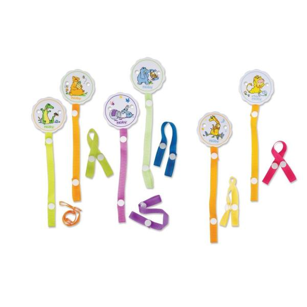 NUBY Pacifinder- Pacifier Clip (pack Of 72)