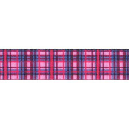 - Country Brook Design | 5/8 Inch Cotton Candy Plaid Grosgrain Ribbon Closeout, 5 Yards