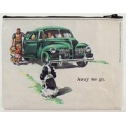 Blue Q Dick and Jane Cookies Zipper Pouch