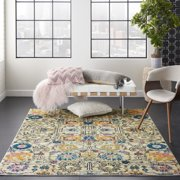Nourison Passion Ivory/Multi Area Rug