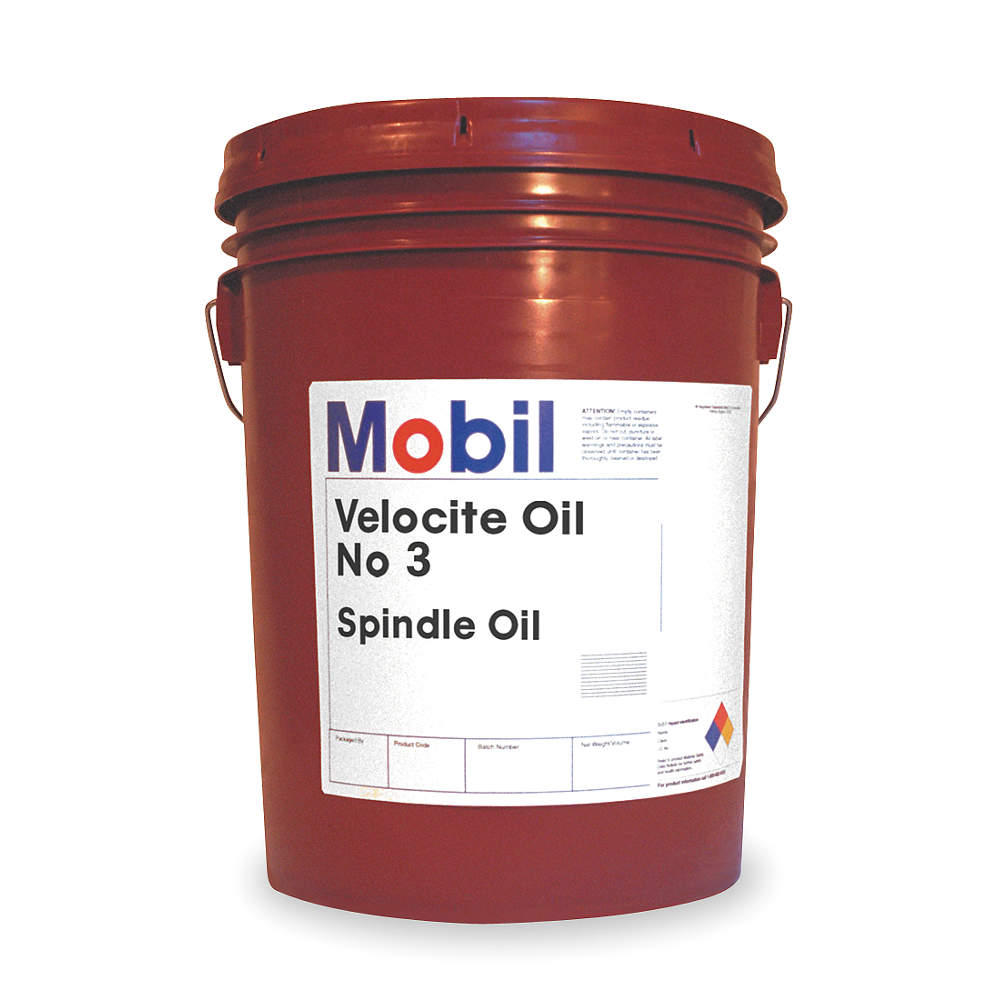 MOBIL Mobil Velocite 3,  Spindle Oil,  5 gal 103866