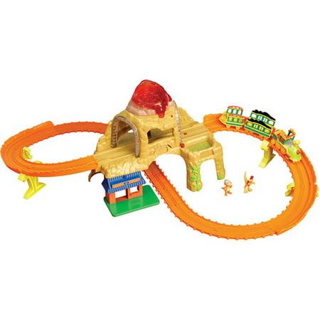 Dinosaur Train Time Tunnel Mountain Set - Walmart.com